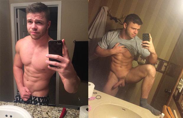 Naked shower guys-5936