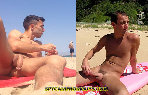 Huge Erections On The Beach - Spycamfromguys, Hidden Cams -8349