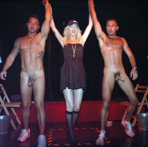 naked go go dancers