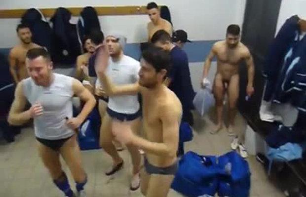 Stripping In Wrong Locker Room ENF