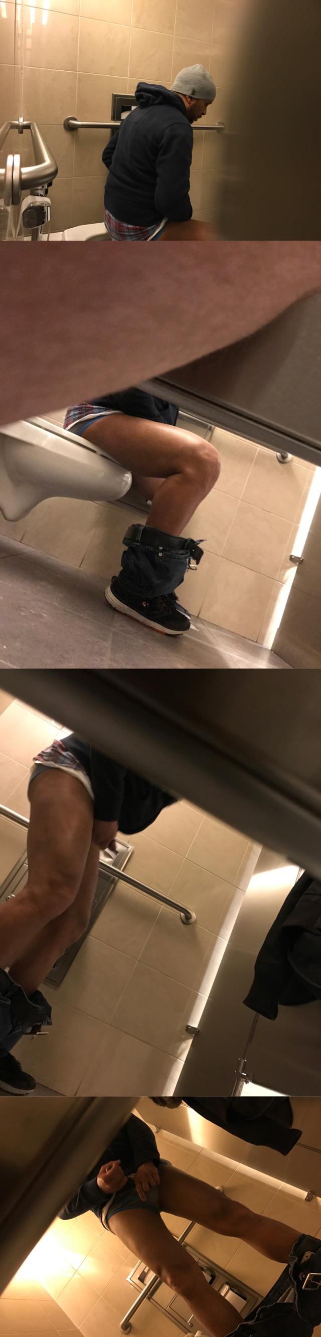 black toilet cam