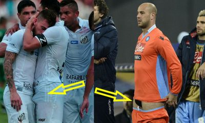 big bulges from footballers