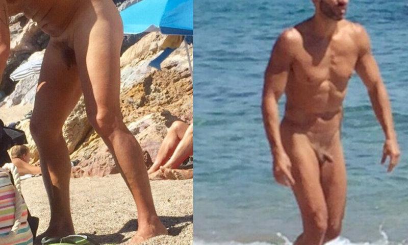 sunbathing naked hard men gifs