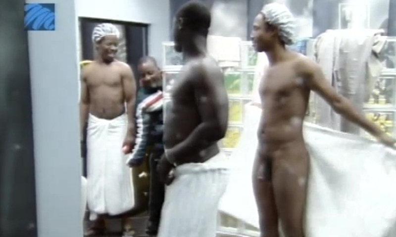 Big Brother Africa naked shower