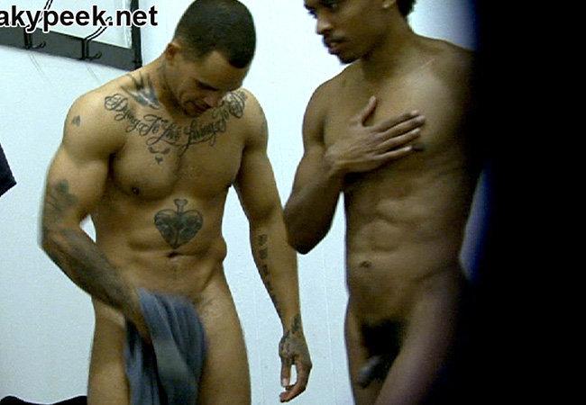 Caught naked men black