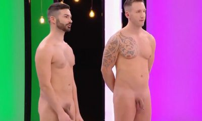 two italian guys naked on tv dating show