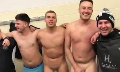 british rugby players naked in locker room