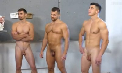 naked russian male models on tv