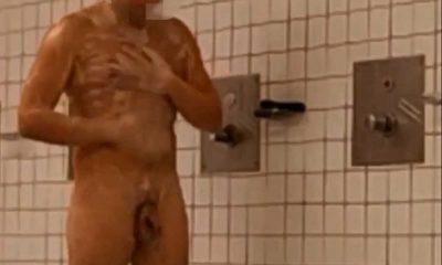 spy on nude men in shower